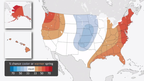 NOAAs spring 2019 flood and climate outlook for the United States