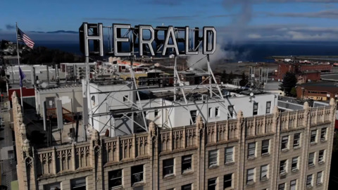 With the newspaper staff moving, here's what's happening to the iconic Herald sign
