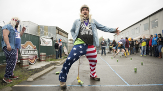 Watch these competitors kick off Bellingham Beer Week with Olympic-inspired games.