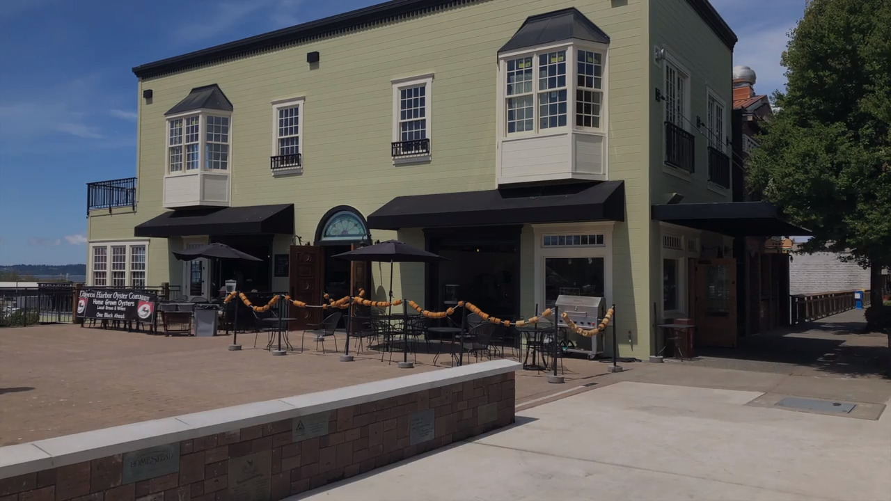 As Blaine continues to transform, an eatery and seafood market are enjoying the view