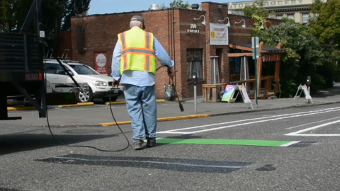 Here's what's happening with new Chestnut Street bike lanes and what's ahead