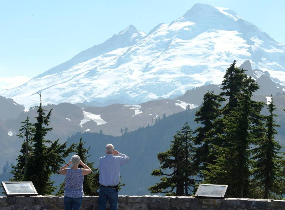 'I can't wait to visit you again, Mount Baker,' star of hit TV show says after climb