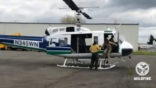 DNR helicopters that fight wildfires once flew in Vietnam War
