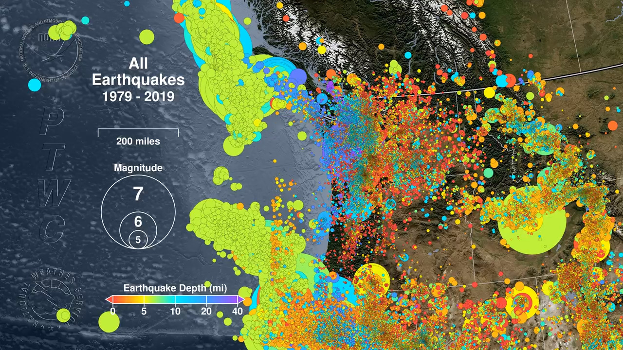 Wake up shortly before midnight last night? You may have felt this earthquake