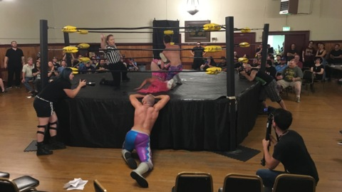 Pro wrestling is 'weird and bizarre and definitely something everybody should try'