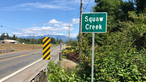 Nooksack Tribe convinces the state to change this creek's name because it's offensive