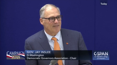 Governor Jay Inslee vows to continue climate fight