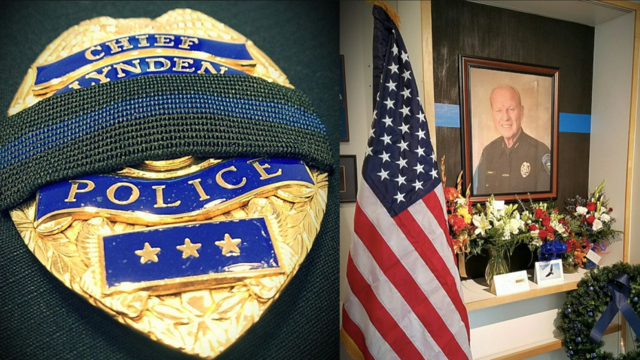 Memorial service set next week after line of duty death of Lynden Police Chief Knapp