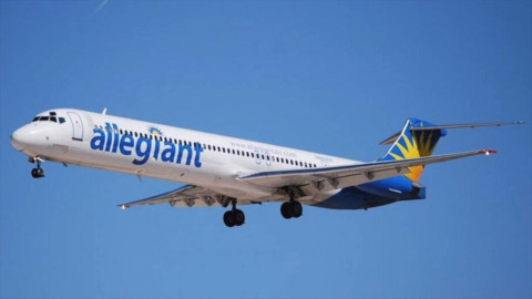 Allegiant Air flys to sunny locations from Bellingham