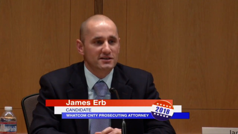 James Erb talks about his candidacy for Whatcom County Prosecuting Attorney
