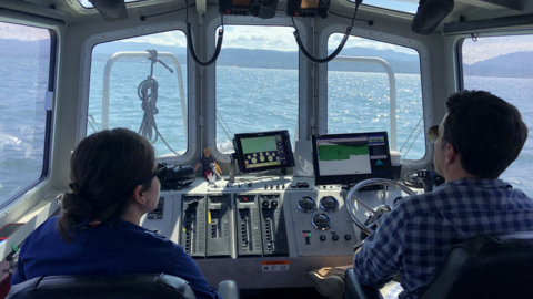 There's a NOAA boat zig-zagging Bellingham Bay. Here's why