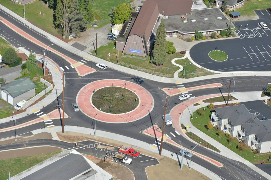 Traffic roundabouts are coming to a neighborhood near you. Are they safe?