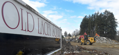 Where's the Lacey Albertsons? It's gone, now that senior-housing project is underway