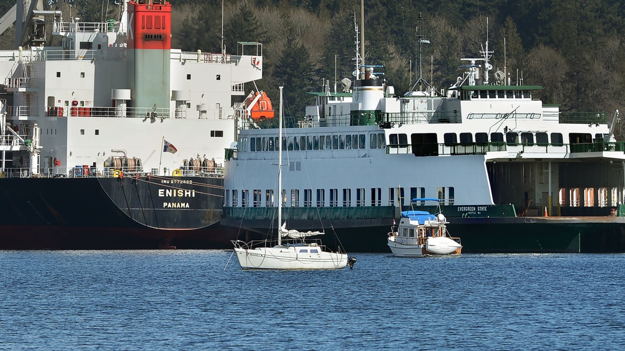Port of Olympia could seize former Washington state ferry next week after owner falls behind on payments