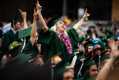 'It allowed me to truly embrace who I am.' Evergreen graduates more than 1,000 students.