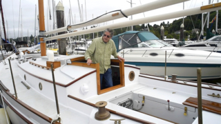 Boatbuilder's 'labor of love' finally sets sail after 18 years or work