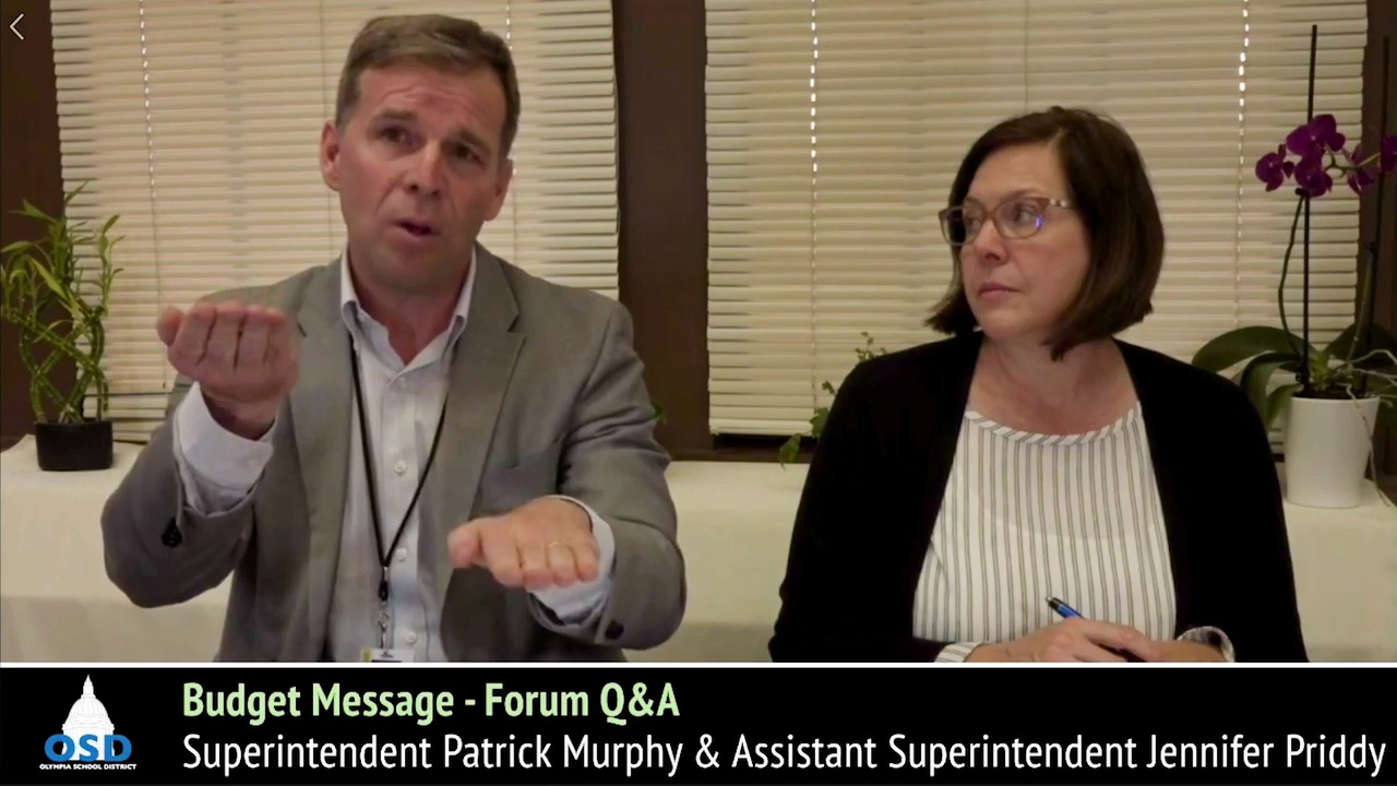 Olympia School District Calendar.Superintendent Patrick Murphy Explains How The Mccleary Decision