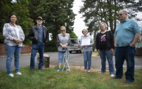 Panorama neighbors opposed to Lacey rezone they feel harms their residential neighborhood.