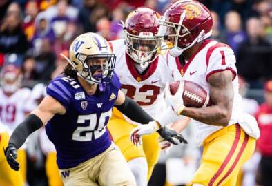 After starting against Arizona, freshman Asa Turner moves to safety on UW Huskies' depth chart