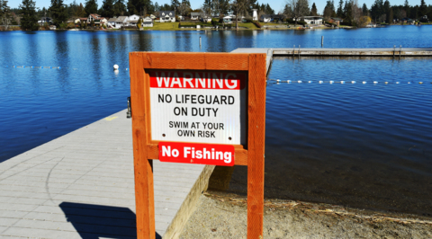 Your favorite way to jump into Long Lake is going away, city says