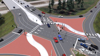 Diverging Diamond Interchange coming to Lacey