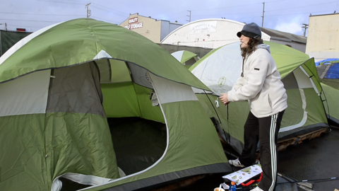 Homeless camp legal challenge can't be anonymous, Thurston County judge says