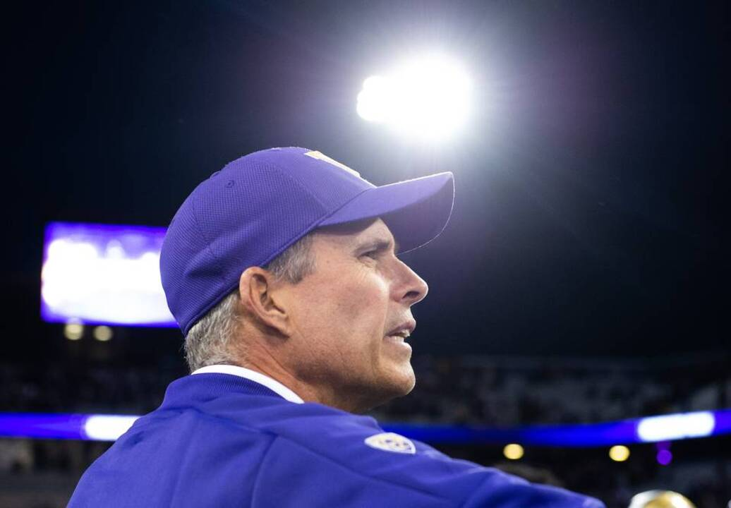 From the grass field to altitude, Huskies coach Chris Petersen dismissive of BYU narratives