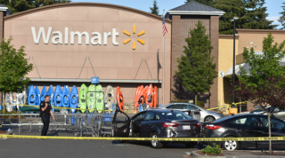 Armed man dead, 2 injured in shooting at Tumwater Walmart