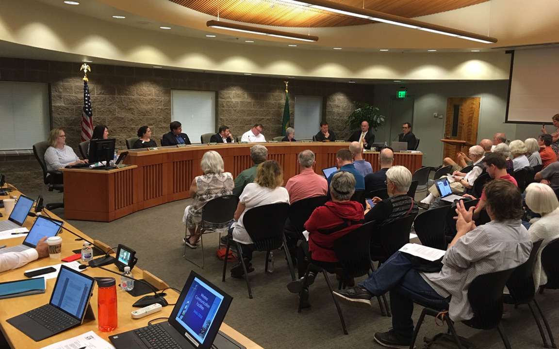 Lacey City Council adds enforcement hours to camping ban