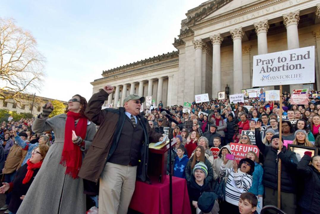 March for Life at Washington state Capitol draws 2,500