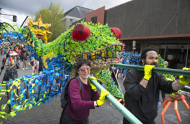 It's time to celebrate Olympia-style with the Procession of the Species