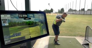 Tumwater golf center offers new ball tracking software for players