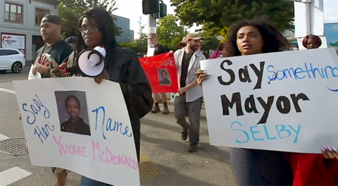 Nearly a year after her death, 'Justice for Yvonne' calls persist