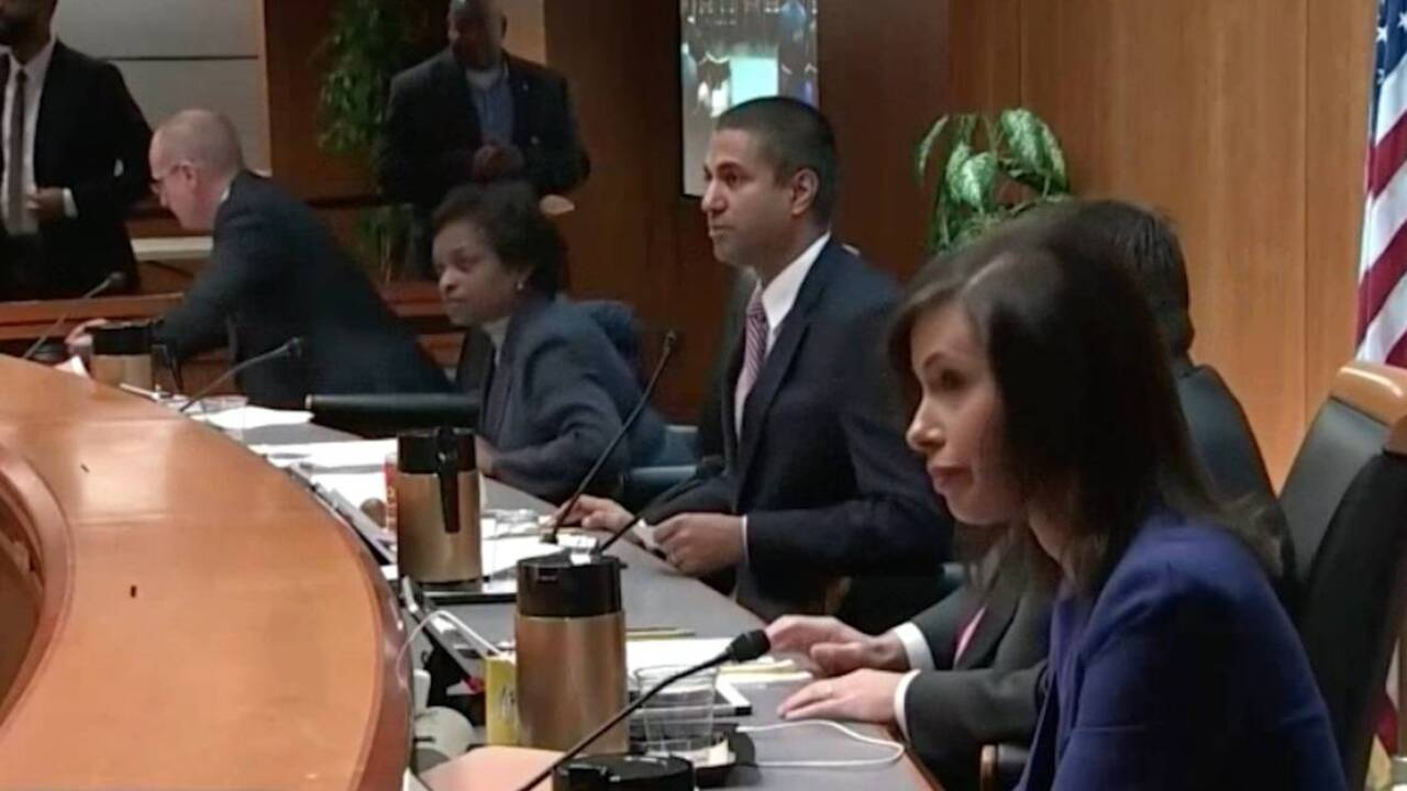 FCC net neutrality vote interrupted due to security concern