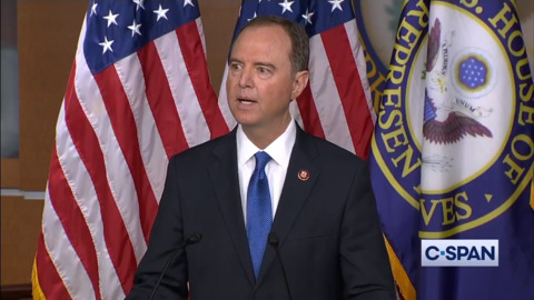 """Schiff: Interference with Congress calling on witnesses will be considered """"evidence of obstruction"""""""