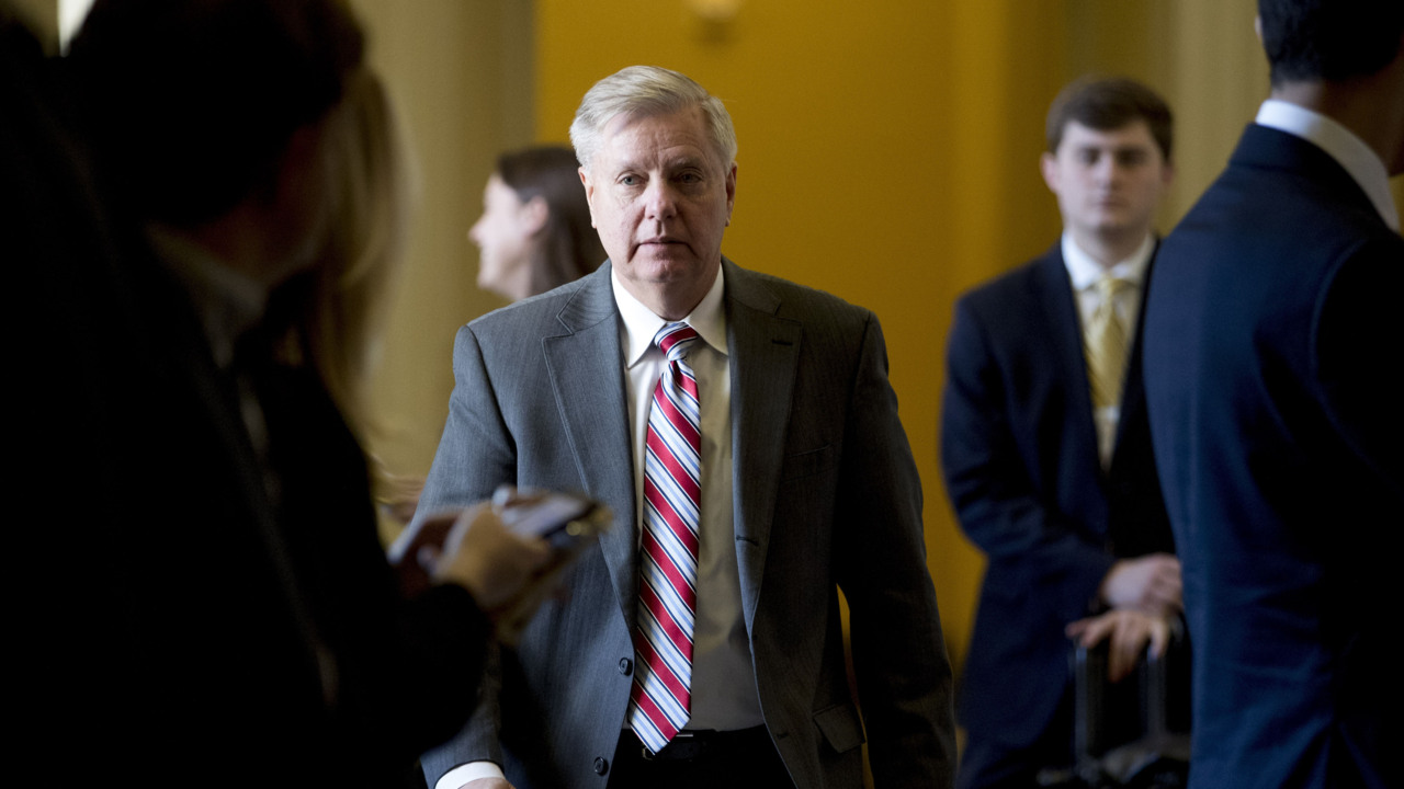 Lindsey Graham explains why he blocked a bill to make the Mueller report public