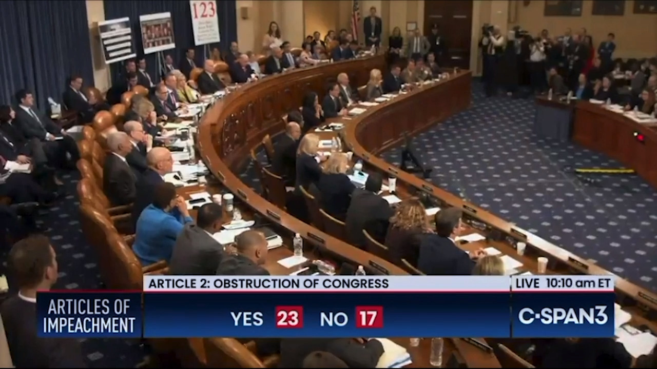 Image result for Article of impeachment pass