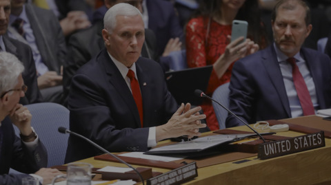 Pence to UN: 'Time for the United Nations to speak' against Maduro