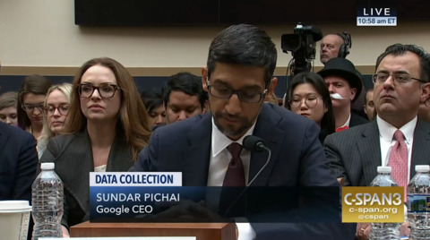 Google CEO explains why 'idiot' search shows Trump photos