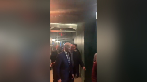 Activists confront Biden with chants of 'drop out, Joe'