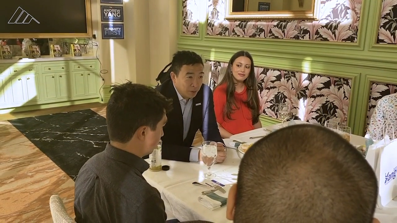 Andrew Yang has exceeded expectations. Now he wants to be taken seriously.