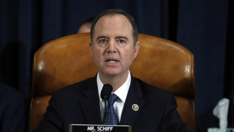 Schiff at impeachment hearing: Witnesses are here because they were subpoenaed