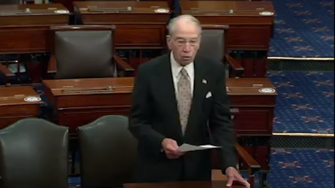 Before testing positive for COVID, Grassley tells Iowans to step up personal responsibility