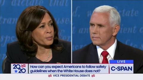 Pence and Harris clash in debate focused on the most urgent issues facing the country