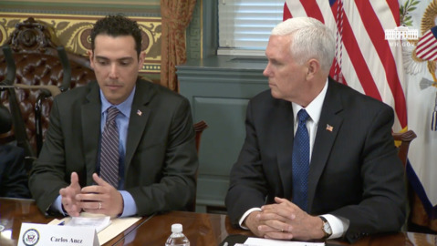 Pence promises to 'use all means' for detained Citgo executives in Venezuela