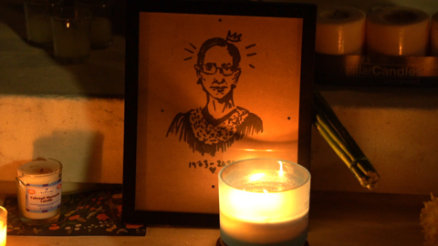 Under the baobab: Paying respects to Justice Ruth Bader Ginsburg, a fallen American hero