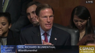Blumenthal quotes Graham's book on defending sexual assault victims