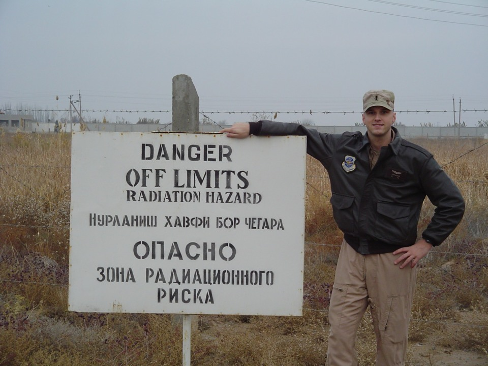 Water in showers and latrines tested positive for cyanide at Uzbek base used by U.S.