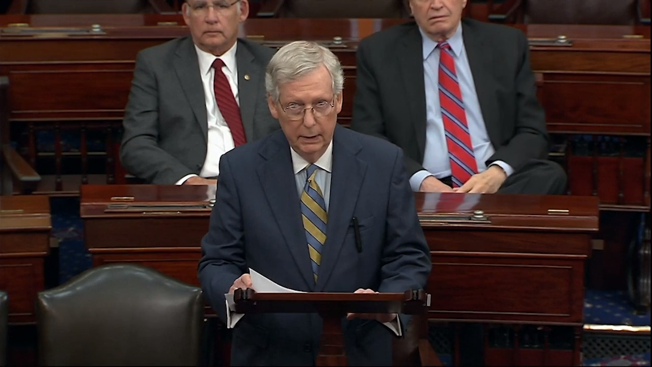 McConnell puts a little daylight between himself and White House on Ukraine