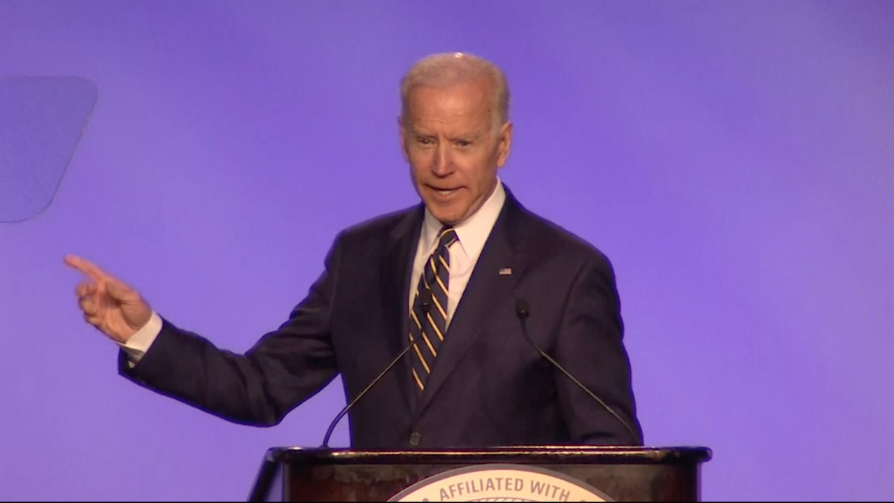He's not running yet, but Biden accusations consume 2020 campaign
